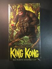 King Kong All Plastic Assembly Kit Aurora 2000 New Sealed Box