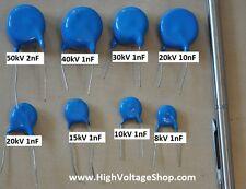 10Stk. Kondensator 20kV 10nF Filterkondensator High voltage capacitor