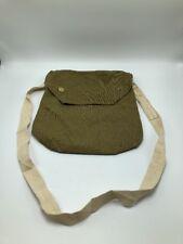 VTG Military Green Canvas Messenger Tote Bag Maple 1940