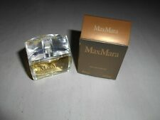 "MINIATURE EAU DE PARFUM ""MAX MARA"" - PLEINE + BOITE"