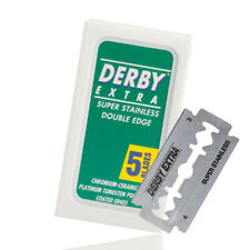 Derby 5 Double Edge Rasierklingen für traditionelle Rasierhobel