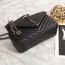 Original NWT YSL Saint Laurent Leather Black Shoulder Bag