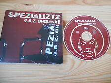 CD Hiphop Spezializtz - GBZ-oholika II (15 Song) DEF JAM GERMANY