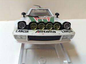 Lot vintage 🚗  Bburago Lancia Stratos alitalia 1:24 Bellissima 🚗  TOP RARE!