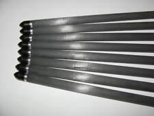 """4 Carbonbolzen 20 """"  8,8mm  Armbrustbolzen Armbrustpfeile 100% Carbon"""