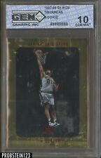 1997-98 SP Authentic #128 Tim Duncan San Antonio Spurs RC Rookie GEM 10