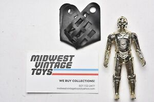Vintage Star Wars - ACTION FIGURE C-3PO W/ REMOVABLE LIMBS 100% Complete Kenner