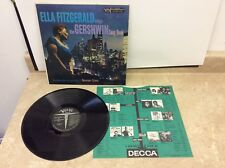 Ella Fitzgerald - Sings The Gershwin Songbook - Verve MGV-4013 LP Tested!