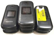 7 Lot Samsung S275G GSM Locked Tracfone Cellular Phone 2GB Good Screen Black