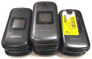 7 Lot Samsung SGH-S275G Flip Tracfone Wholesales Used Mix Conditions Untouched