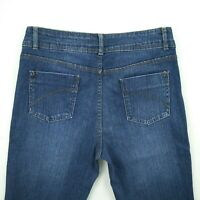 Blue Grae Denim - Dark Blue Bootcut Stretch denim Jeans Women's Size 10 W30.5