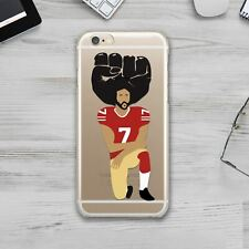 Kaepernick United We Stand Rubber Silicone Cover Case Apple iPhone XS XR X 11 6s