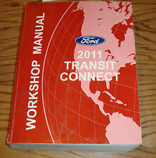 Original 2011 Ford Transit Connect Shop Service Manual 11