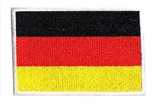 Patche écusson Allemagne Germany Deutschland 85x55 mm brodé thermocollant