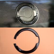 Car Carbon Fiber Gas Cap Trim Gas Tank Door Cover Sticker Fit for Challenger
