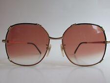 TARGA DLX 6 Black Beige Gold Vintage Sunglasses   58-18-145