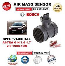 Para Opel Vauxhall Astra G H 1.6 1.7 2.0 98-ON sensor de masa de aire 5 Pin Con Carcasa