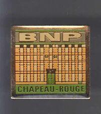 RARE PINS PIN'S .. BANQUE BANK BNP CHAPEAU ROUGE BORDEAUX 33 ~AS