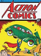 Jigsaw puzzle Entertainment Action Comics Superman Cover #1 One 500 piece NEW