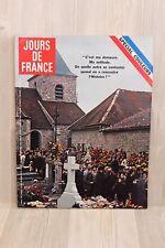 Revue Jours de France Novembre 1970 - Spécial couleurs