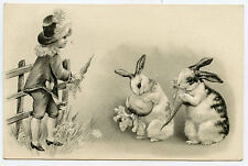 lapins.rabbits.enfant.chapeau.child.hat.