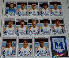 SC MONTPELLIER HERAULT PAILLADE COMPLET PANINI FOOT 93 FOOTBALL SAISON 1992-1993