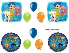 BUBBLE GUPPIES Fish HAPPY BIRTHDAY PARTY BALLOONS Decorations Supplies