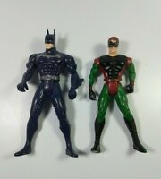 DC COMICS VINTAGE BATMAN & ROBIN SUPER POWERS ACTION FIGURE 1995-96  KENNER 5""