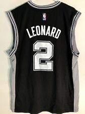 Adidas NBA Jersey San Antonio Spurs Kawhi Leonard Black sz L
