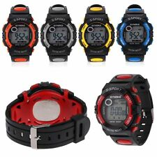 Waterproof Children Boys Sports LED Digital Watch Kids Alarm Date Wrist Watches