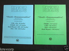 DANZIG—TWO 1993 PRESS RELEASES