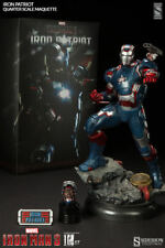 Iron Man 22 Inch Statue Figure 1/4 Scale Maquette - Iron Patriot Sideshow