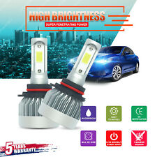1700W 255000LM CREE LED Headlight Kit 9005 HB3 H10 9140 9145 6000K White Bulbs