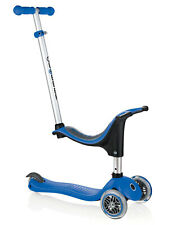 Brand New Globber EVO 4 in 1 Convertible Scooter Outdoor Play Navy Blue