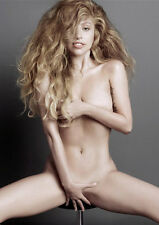 Lady Gaga  'Au Natural ' Beautiful' in Full Colour Top Photo / Poster *Fast+Free