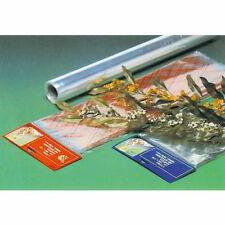 PLASTICA TRASPARENTE PER CONFEZIONAMENTO FIORI BUSTA 25 FOGLI CM. 100X130
