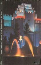 1939 Golden Gate Exposition San Francisco California Tower Neon Night 8960