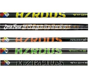 NEW Project X Driver Shaft HZRDUS RipTide Smoke - Choose Model, Flex & Adapter!