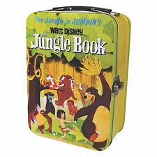 Jungle book Film Poster Tin fourre-tout lunch box rétro vintage Caddy Walt DISNEY BALOO