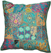 Decorative Throw Pillow Covers Couch Pillow Sequins Beads Decor Diwali Decoratio