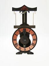 Orologio da Tavolo in legno funzionante basato su progetto leonardiano Leonardo