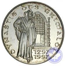 Monaco-1997-100 francs argent-SUP-31mm, 15gr