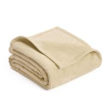 West Point Home Vellux Plush Full/Queen Blanket Cream