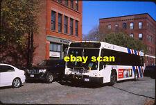 Lowell Regional Transit 2004 original Fujichrome color bus slide