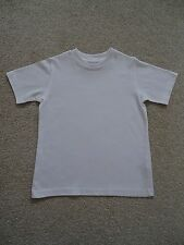 White Crew Neck School PE T-Shirt from TU at Sainsburys Age 4 Years
