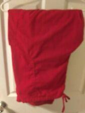 Scrubstar Women's classic Red Drawstring scrub Pants Plus Size 3Xl