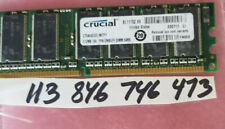 512MB PC RAM DDR1 333 PC2700 DDR 333 184PIN NON-ECC CL2.5  SINGLE RANK 1RX8 32X8