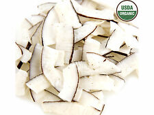 SweetGourmet Organic Raw Unsweetened Coconut Smiles -2.5Lb  FREE SHIPPING!