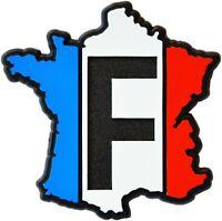 Relief Emblem 3D Frankreich Aufkleber France Map Landkarte 64 mm HR Art. 19156