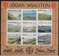 Faeroer postfris 2005 MNH vel / sheet 534-542 - Jogvan Waagstein (X439)